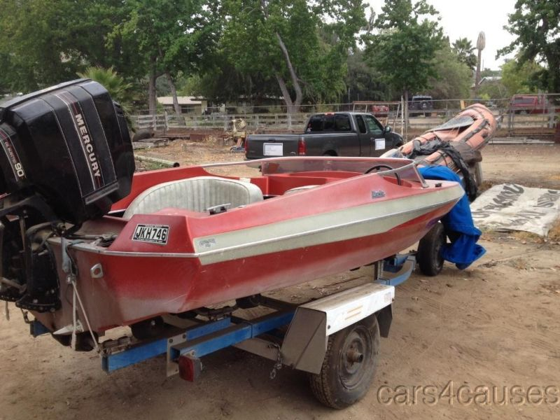 90 Hp Mercury Outboard >> 90 Hp Mercury Outboard Motor 77 Marlin Gemini With Trailer